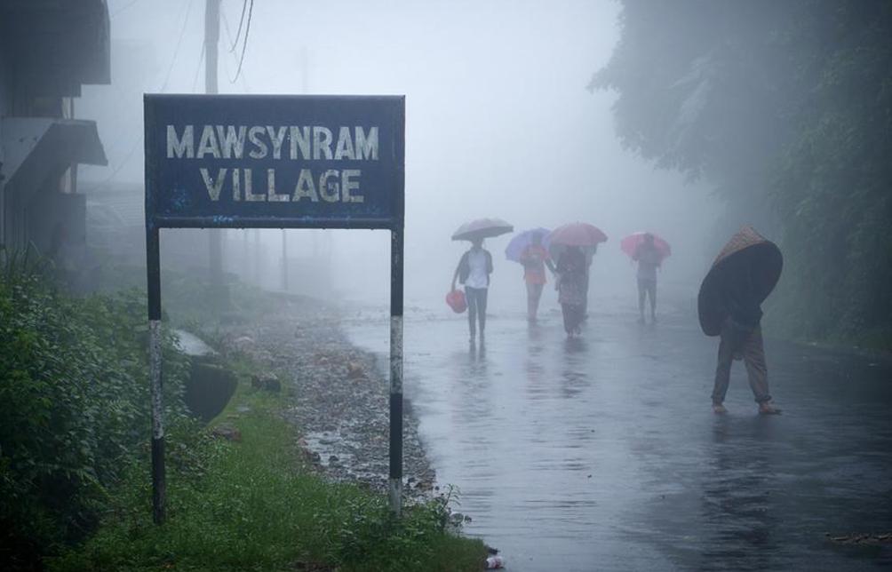 Mawsynram, India.
