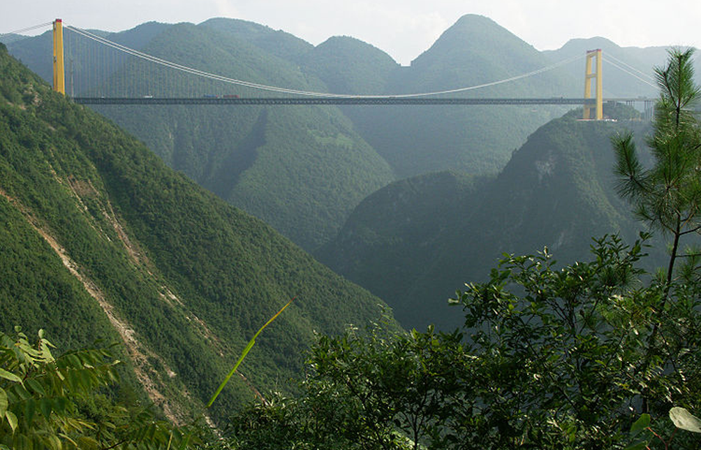 Sidu River Bridge, China