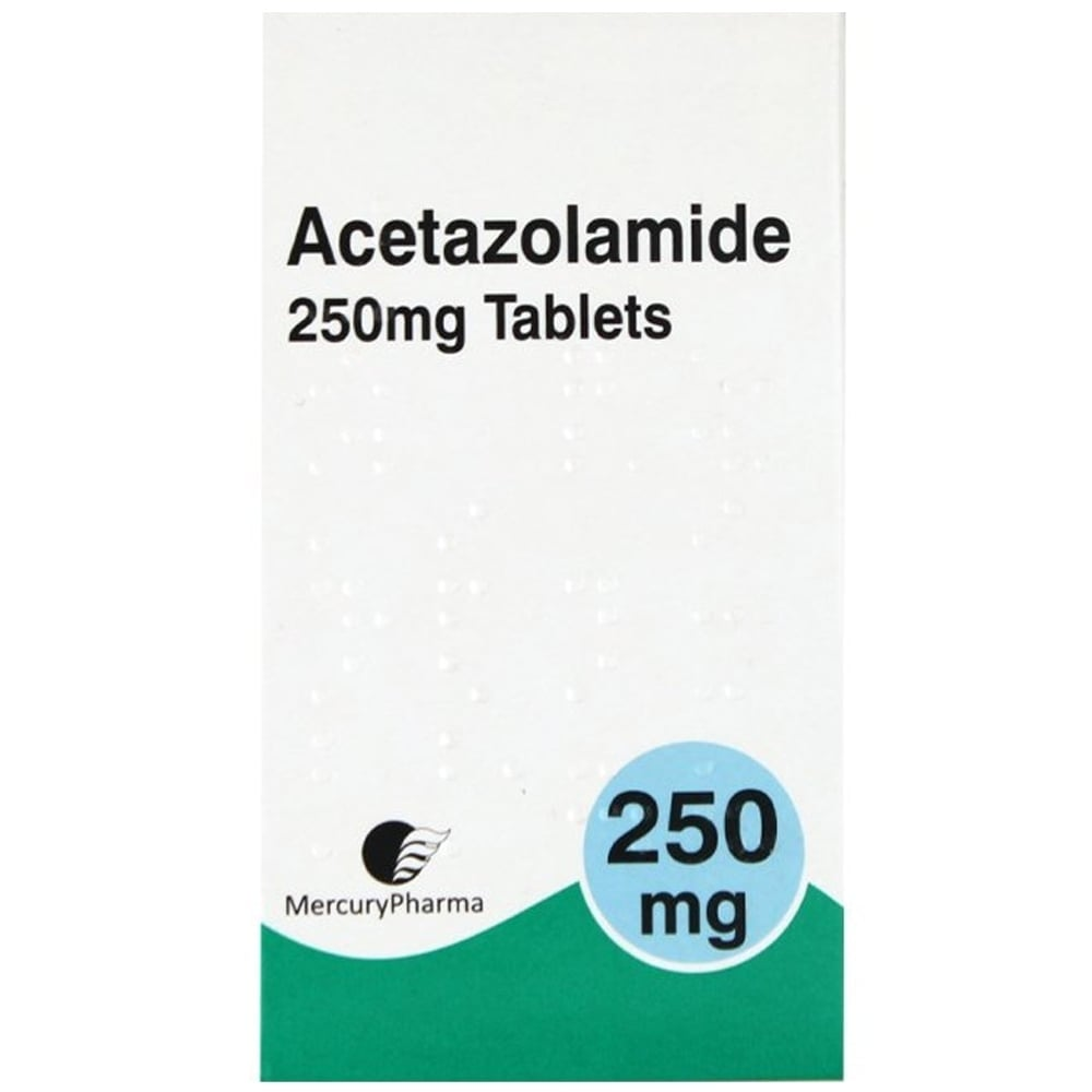 Altitude Sickness Tablets   Acetazolamide