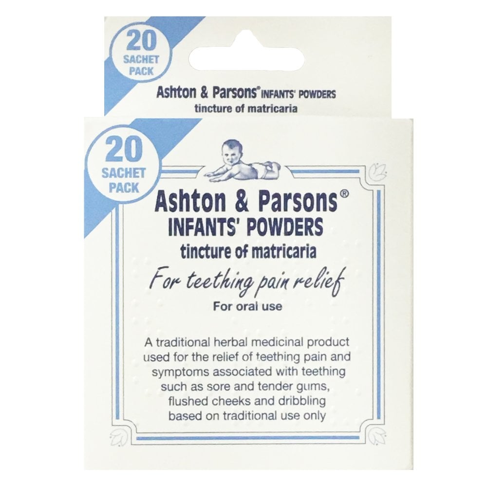 ASHTON /& PARSONS INFANT POWDERS