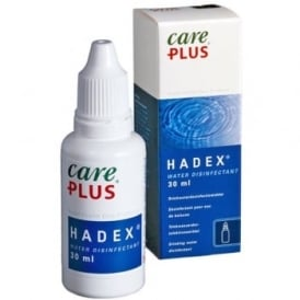 Care Plus Hadex Water Disinfectant 30ml (Clearance)