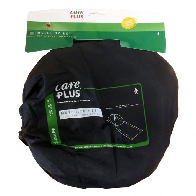 Care Plus Single Green Mosquito Net - Pop-Up Dome (33665)