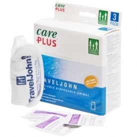 Care Plus TravelJohn Disposable Urinal 3 Pack (37540)