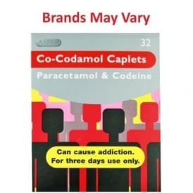 Co-codamol Caplets 32