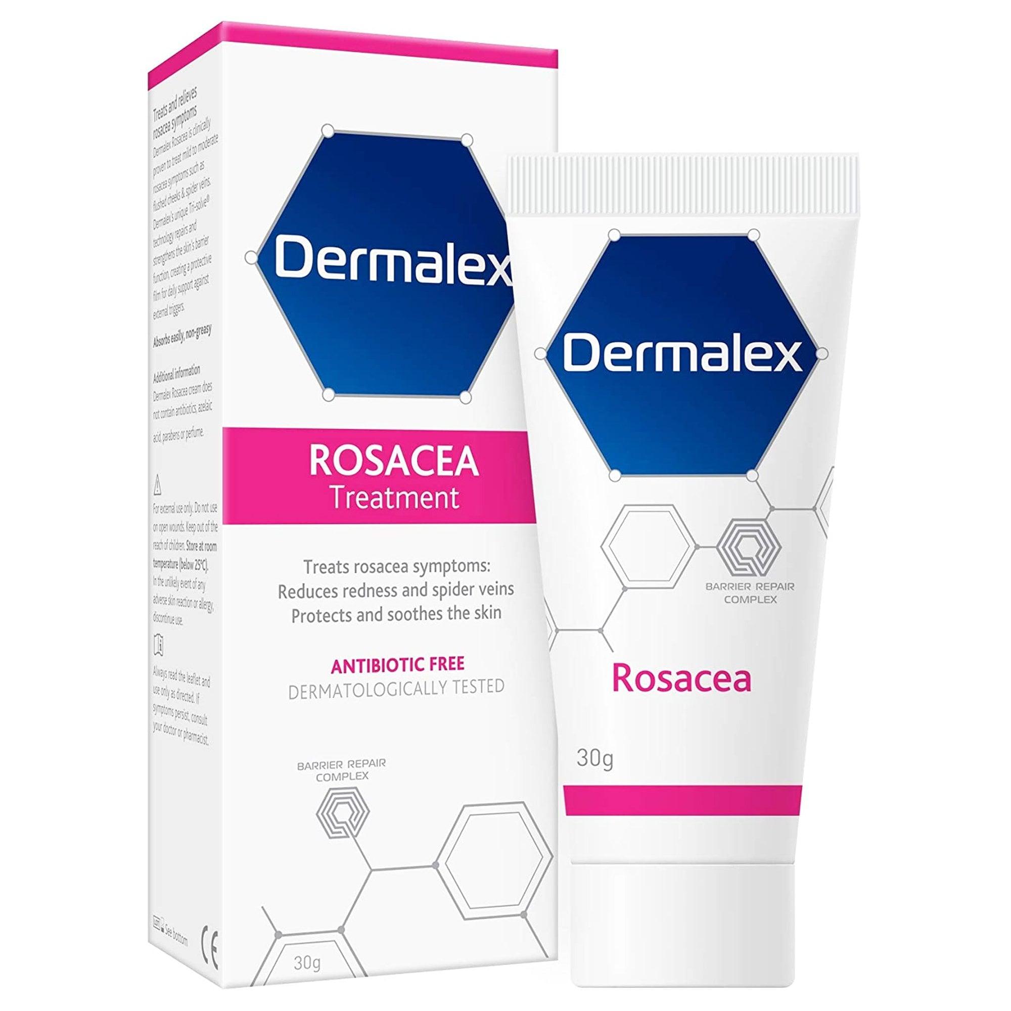 Dermalex Rosacea Cream Skin Care Travelpharm