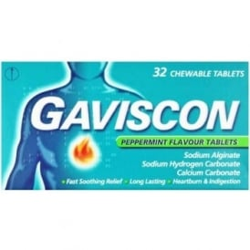 Gaviscon Peppermint Tablets x 32