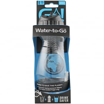 Water To Go GO! Water Purifying Bottle