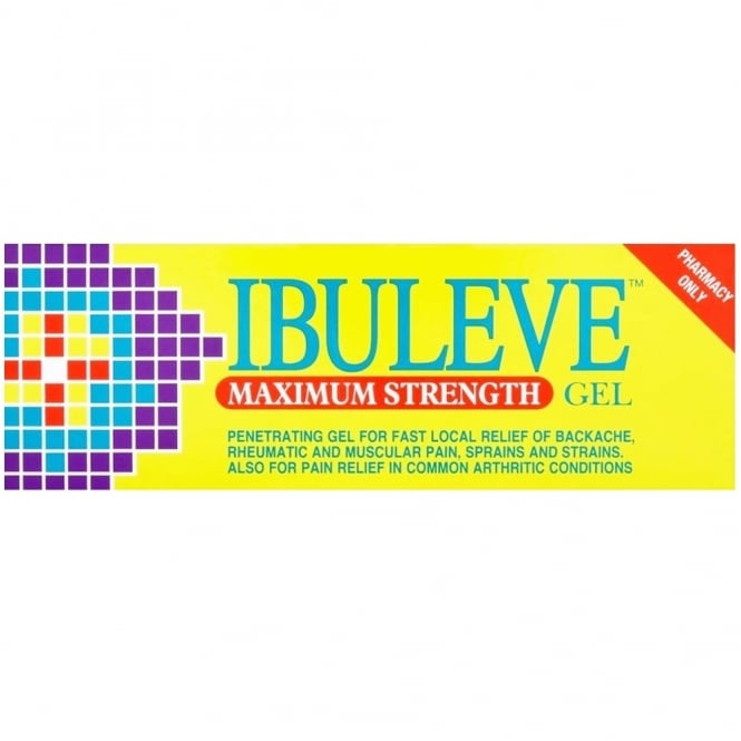 Ibuleve Max Strength Gel 50g