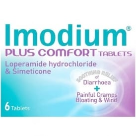 Imodium Plus Comfort Tablets x 6