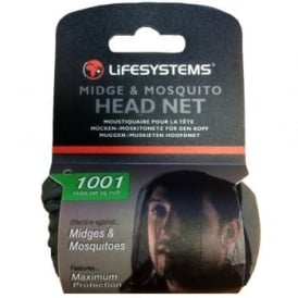 Lifesystems Midge and Mosquito Head Net (5060)