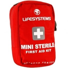 Lifesystems Mini Sterile First Aid Kit Red (1015)