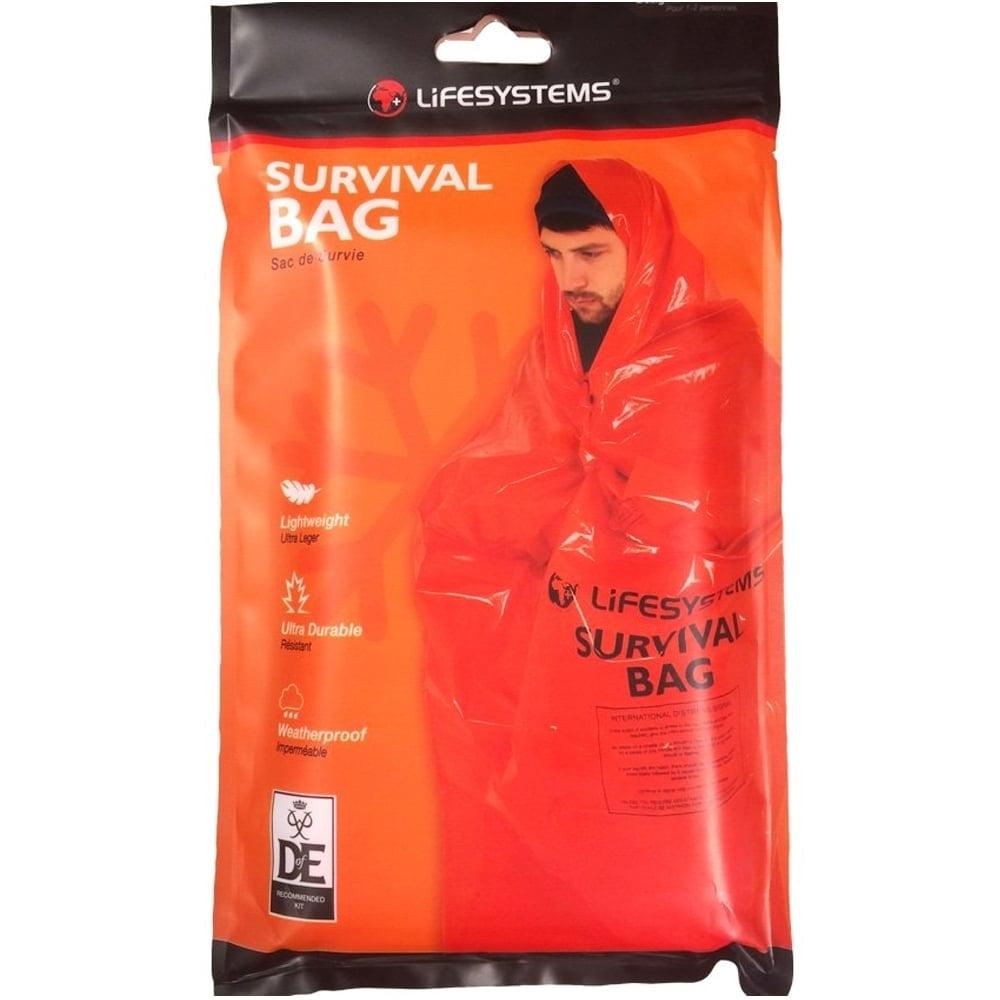 Orange Lifesystems Mountain Survival Bag