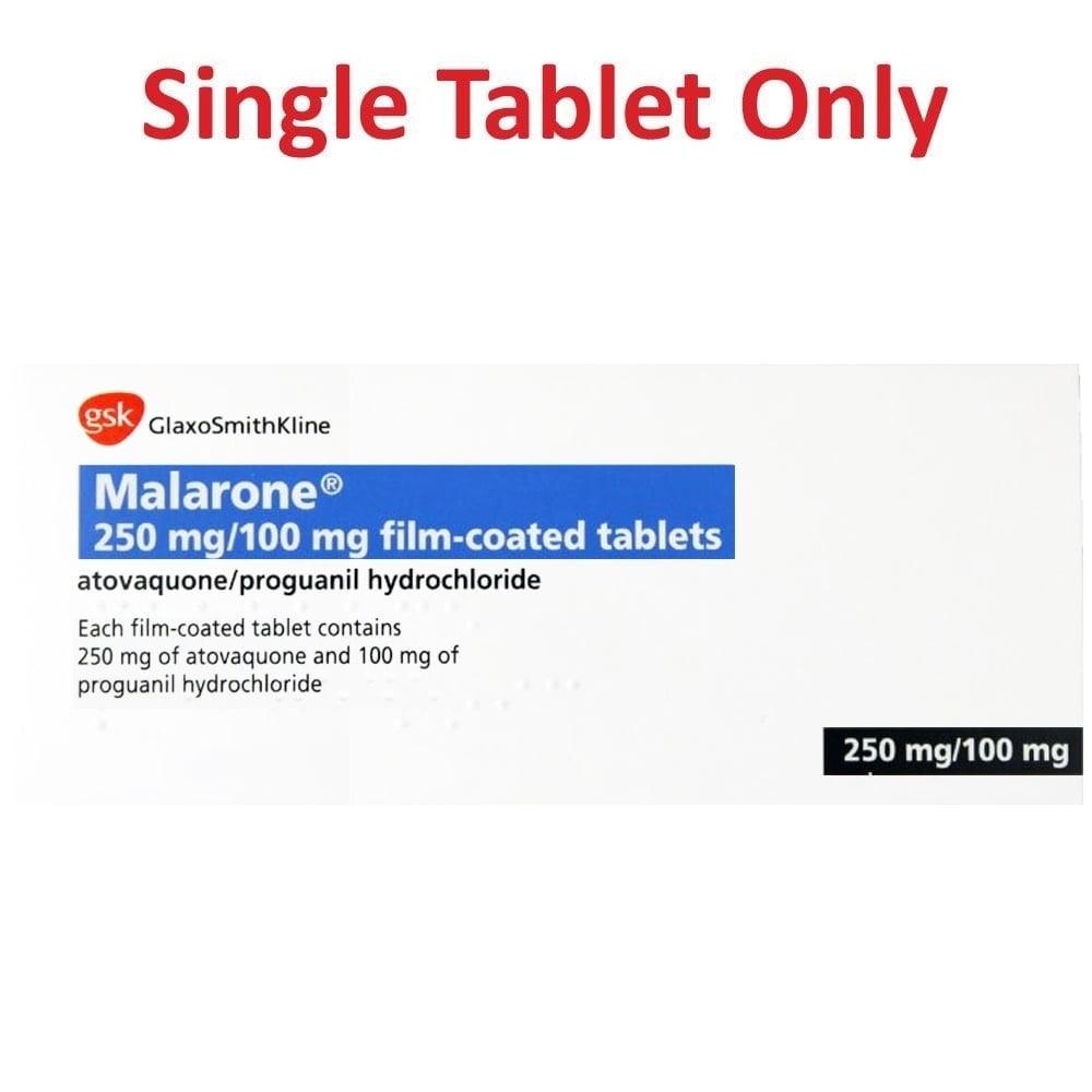 Malarone pricing