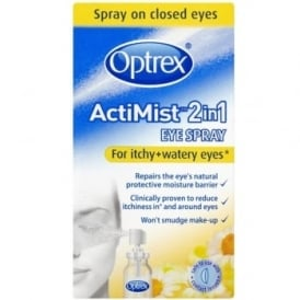 Optrex ActiMist 2 In 1 Eye Spray For Itchy & Watery Eyes 10ml