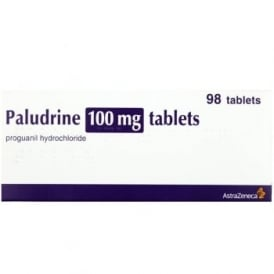 Paludrine 100mg x 98 Tablets