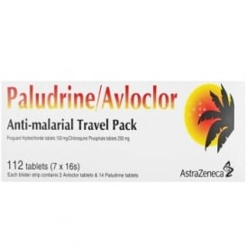 Paludrine/Avloclor Anti Malarial Travel Pack