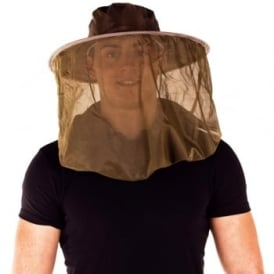 Pyramid Pop-Up Hat & Headnet Large Midge Net