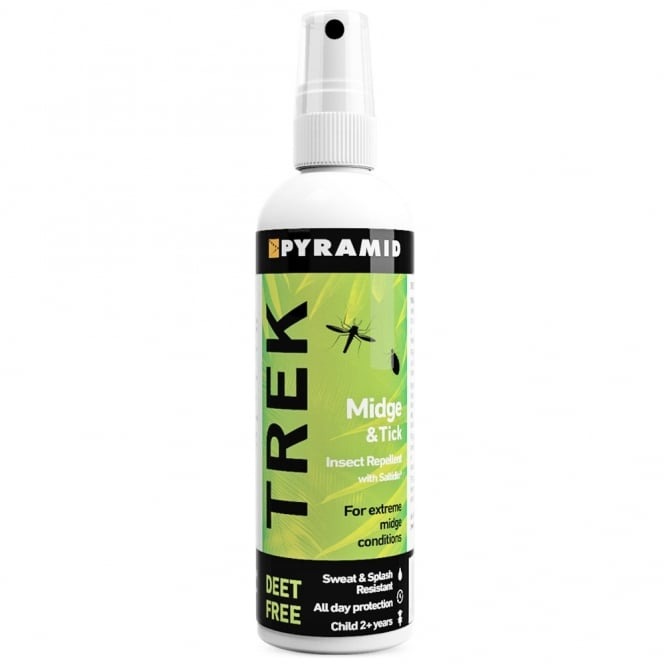 Pyramid Trek Midge & Tick Repellent 120ml